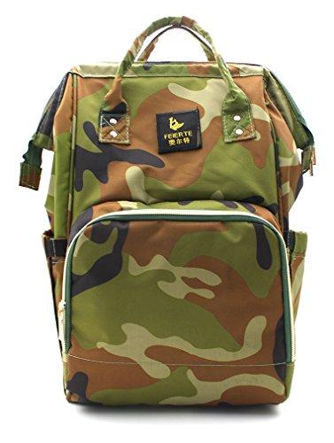 Scheppend Anti-Diebstahl Multi funktionelle Mumie Tasche Travel Rucksack Schulter Windel wechseln Tasche/Rucksack für Männer, Frauen (Stück 3 Rosa Carters)