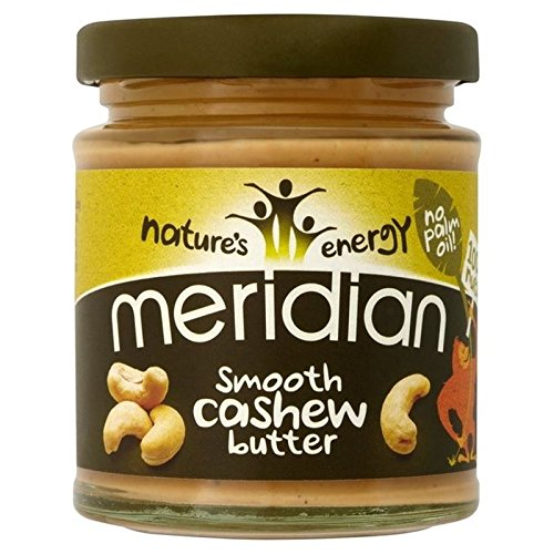 Meridian Glatte Cashew Butter 170g (Packung von 6)