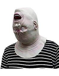 Kangrunmys Masque Halloween Adulte Sanglant Effrayant Costume Accessoires  Carnaval DéGuisement FêTe Cosplay ... 3ad7931fc58