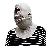 jieGREAT Räumungsverkauf 2019 Down Full Head Deluxe Neuheit Halloween Scary Kostüm Party Latex Kopfmaske