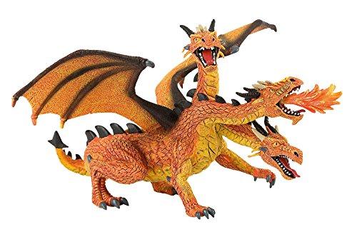 Toppers Dragon Tres Cabezas 20cm - Nuev