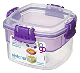 Picture Of Sistema Snacks To Go Food Storage Container - Assorted Colours