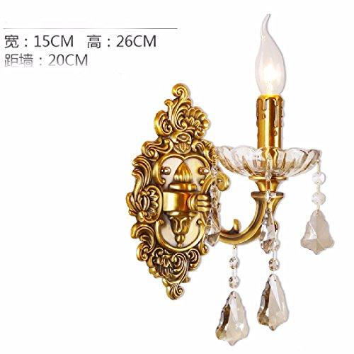 ZHGI-Otto-europischen-klassischen-massivem-Messing-Wand-Lampen-minimalistisches-Schlafzimmer-amerikanischen-Kristall-Lampe-Videowand-Gang-NachttischlampenC
