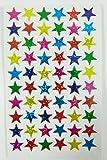 10 Blatt Kleine Stern Glittered Aufkleber (600 Aufkleber)
