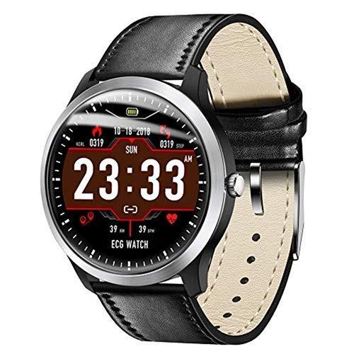 LTGJJ Smart Watch-EKG-Farbdisplay und 24-Stunden-Herzfrequenz -Schlafmodus zur Überwachung des Blutdrucks Fitness-Tracker und Herz-Trainingsuhr-Schlafmonitor