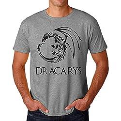 Game of Thrones Dracarys Dragon Men's T-Shirt Hombre Camiseta XX-Large