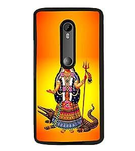 Fiobs Designer Back Case Cover for Motorola Moto G Turbo Edition :: Virat FanBox Moto G Turbo Virat Kohli (God Bhagvan Temple Dress Sports Typography Spritual)