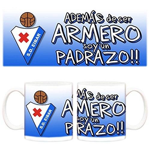 Taza Día del padre padrazo y además Armero SD Eibar fútbol