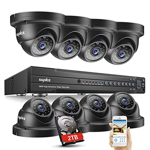 SANNCE 1080P Security Camera System, SANNCE Home CCTV Kits, CCTV System, Surveillance Camera System