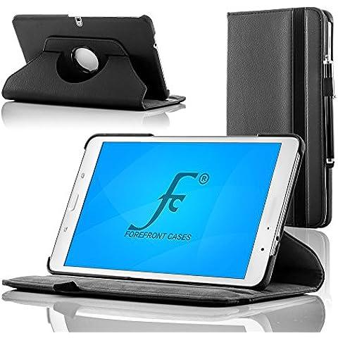 Forefront Cases® Nueva Samsung Galaxy Tab 310,1–Funda de piel/soporte para nueva generación Samsung Galaxy Tab 3(10.1) 8GB 3G + WiFi con función de sensor magnético de encendido y apagado negro