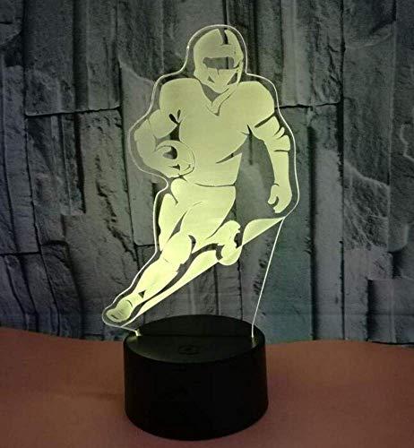 QiXian Nachtlicht Wandleuchte Led Lampe Olive Player Bunte 3D Lampe Touch Fernbedienung 3D Nachtlicht Luminaria De Mesa Neuheit USB Led Nachtlampe für Küche Schlafzimmer Wohnzimmer Mesa Olive