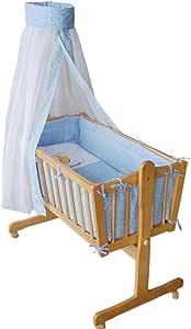 « Honey Bee » – Berceau bébé complet - lit bébé - lit de salon - bleu clair- 51365-01
