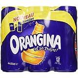 Orangina Pack de 6 Canettes de 33 cl
