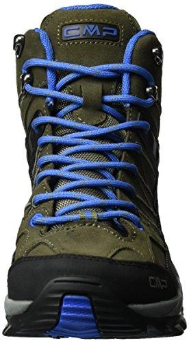 C.P.M. Rigel, Chaussures de Randonnée Hautes Homme Vert (Avocado)