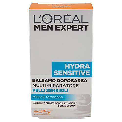 L'Oréal Paris Men Expert Hydra Sensitive - Balsamo dopobarba pelli sensibili - 100 ml
