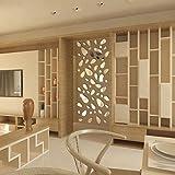 Oyedens Specchio adesivo da parete 12 pz 3D fai da te in vinile rimovibile, per casa, arte, arredamento Silver