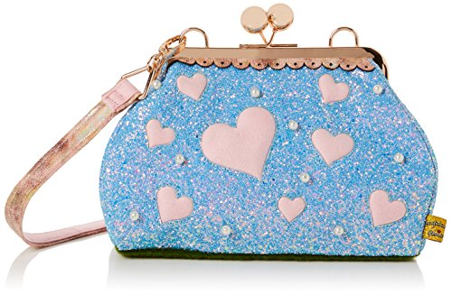 Irregular Choice Damen Candy Cupcake Schultertasche, Blau (Blue), 13x20x30 centimeters
