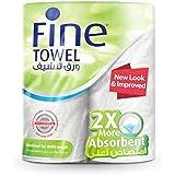 Fine, Paper Towel – Super Towel, Sterilized, 60 sheets x 2 Ply, pack of 2 rolls