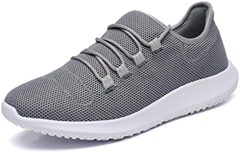 Hemei 2018 - Zapatillas de Deporte para Hombre (Lona, Transpirables, 41 Unidades)