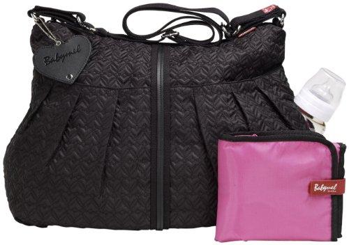 Babymel Amanda Quilted Changing Bag: Black