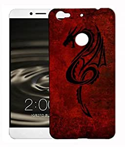 XUWAP 3d Printed Designer Hard Back Cover For LeTV Le 1S Design-10111