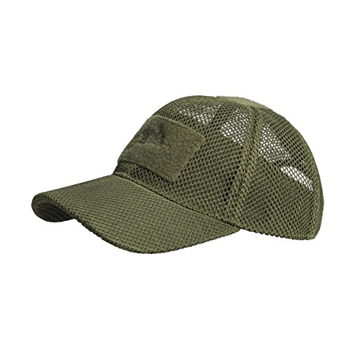 Helikon-Tex BBC Mesh Cap - Mesh Polyester - Olive Green (5-panel-mütze-olive)