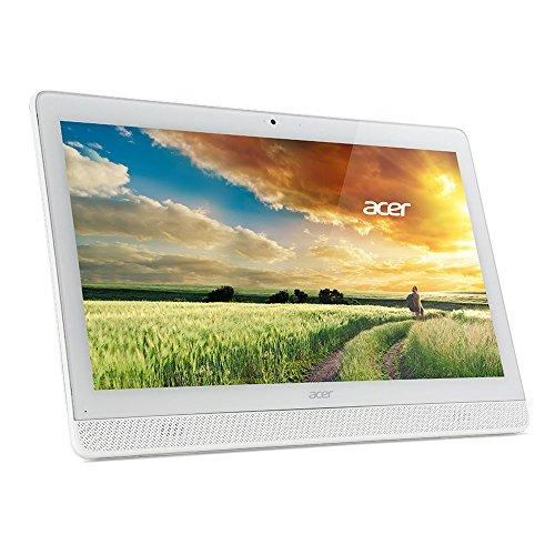 Acer DQ.B4GEF.001 Ordinateur tout-en-un 19,5 cm Blanc (Intel Celeron, 4 Mo, 1 To, Windows 10)