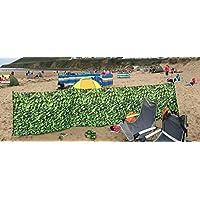Olpro Lightweight   Outdoor Laurel Hedge Windbreak available in Green  - Size 4.8 X 1.4 m 2