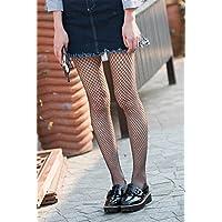 QER-MEDIAS,medias de compresion Las redes de calcetines negros de rejilla grabado calcetines hembra medias, calcetines de seda, formando los calcetines , pequeña cuadrícula