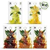 Klassiker Box - 5 x 16 BIO Teekapseln von My-TeaCup | Kompatibel mit Dolce Gusto®*-Maschinen | 100% kompostierbare Kapseln ohne Alu | 80 Kapseln 5 Sorten