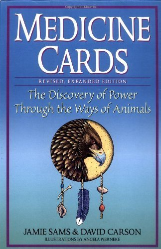 Medicine Cards: The Discovery of Power Through the Ways of Animals by Sams, Jamie, Carson, David (1999) Hardcover