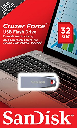 Sandisk Cruzer Force SDCZ71-032G-B35 32GB Flash Drive