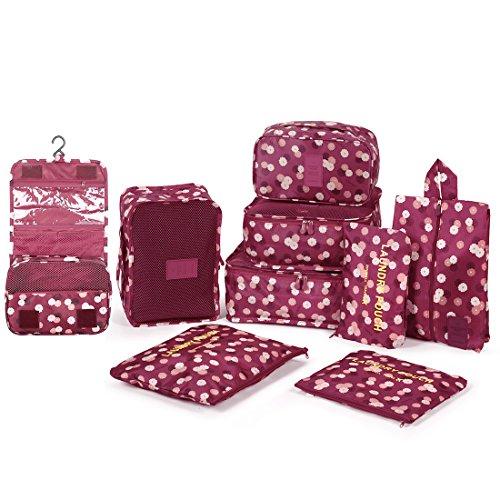 DOKEHOM DKA3003WF2 9 cubos del embalaje organizadores de viajes, Organ