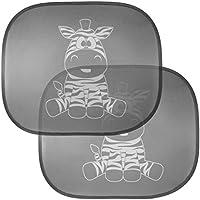 Cartoon Auto protezione solare Zebra parasole per