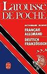 Larousse de poche français-allemand / deutsch französich par Rocher
