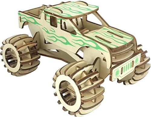 Modèle de simulation de bois bois bois pour enfants et adultes 3D Puzzle en bois 3D | L'apparence élégante  0ed9e5
