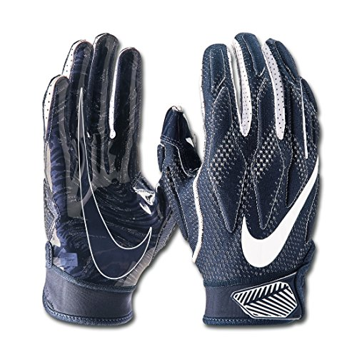 Nike Superbad 4.5 Design 2018 American Football Handschuhe - Navy Gr. L
