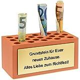 4you Design Grundstein für Euer neues Zuhause. Alles Liebe zum Richtfest - Einweihungsgeschenk - Umzug - Richtfest - Geschenkidee - Aufschlagfest - Weihefest - Hebefest