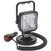 Sealey LED121 - Foco portátil (15 W, LED, 12 V, con base magnética)