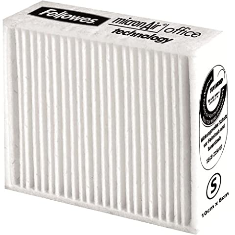 Fellowes 100 x 80mm Small Clear Air Fine Dust Printer Filter Cleaners