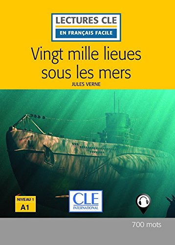 20 000 lieues sous les mers - Livre + audio online par Jules Verne
