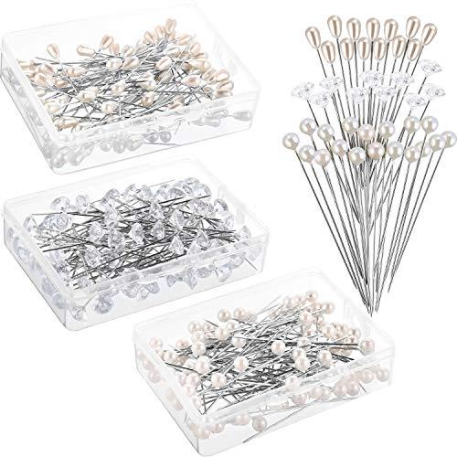 Alfileres perla, 300 unidades, ramo flores, ramo flores