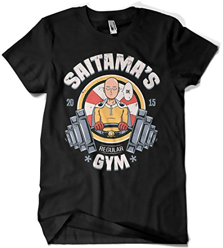 4406-Camiseta Premium, saitamas gym-01 (Typhoonic)