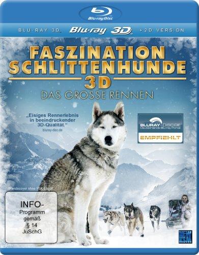 Faszination Schlittenhunde 3D - Das große Rennen (inkl. 2D Version) [3D Blu-ray]