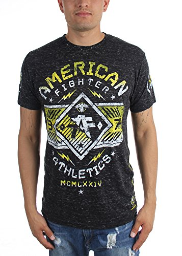 American Fighter - Herrenhartwick Slub T-Shirt Black