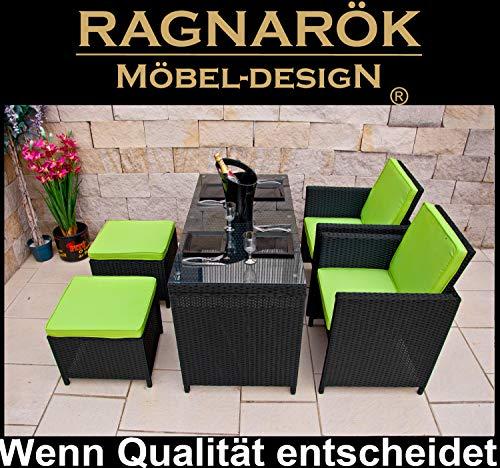 RAGNARÖK PolyRattan DEUTSCHE MARKE -- EIGENE PRODUKTION -- 8 Jahre GARANTIE Ragnaroek Möbeldesign...