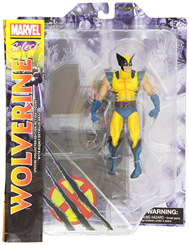 Marvel Select - Yellow Wolverine Comic Coll. (Outfit Wolverine)