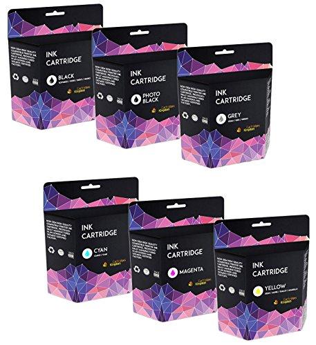 Cartridges Kingdom PGI-525 CLI-526 6-er Pack Druckerpatronen kompatibel mit Canon Pixma MG5150 MG5250 MG6150 MG6220 MG6250 MG8150 MG8220 MG8250 MX885 iP4850 iP4950 iX6550 (Canon Mg6220)