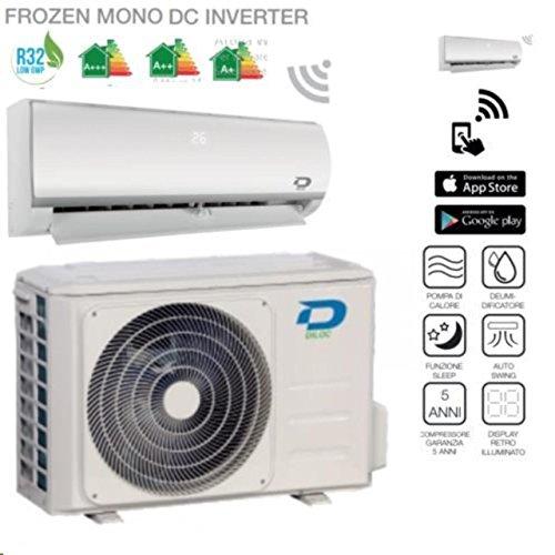 Diloc Frozen Climatiseur inverter mural - R32, 9000Btu et compresseur Sharp -D. frozen9+ D. frozen109