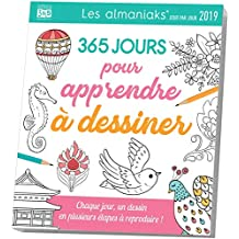 Almaniak Activités 365 jours pour apprendre à dessiner 2019